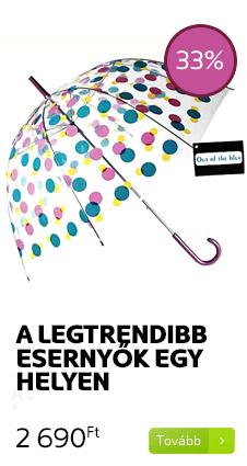 A legtrendibb esernyők egy helyen