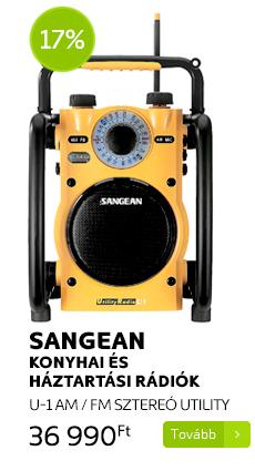 Sangean konyhai és háztartási rádiók