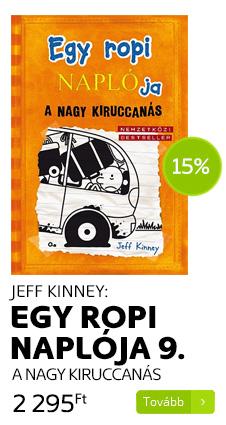 Jeff Kinney: Egy ropi naplója 9.- A nagy kiruccanás