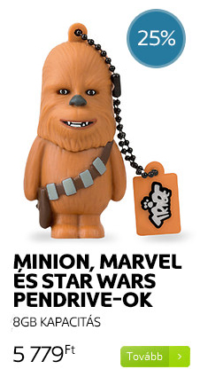 Minion, Marvel és Star Wars pendrive-ok