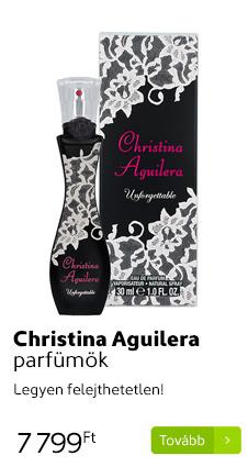 Christina Aguilera parfümök