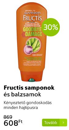 Fructis samponok és balzsamok