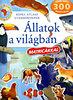 Állatok a világban - Képes atlasz gyermekeknek (Matricákkal)