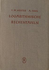 Logarithmische Rechentafeln