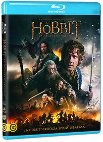 A hobbit: Az öt sereg csatája - 2 Blu-ray