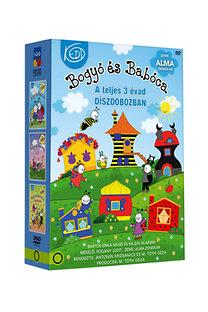 Bogyó és Babóca 1-2-3 DVD díszdobozban