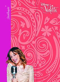 Disney - Violetta - Titoknapló - mágneses borító