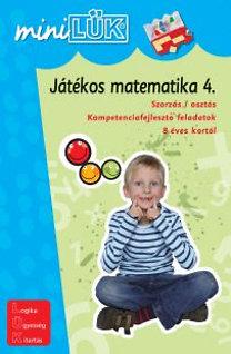 Török Ágnes (szerk.): Játékos matematika 4. - Szorzás / osztás - LDI-221