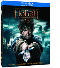 A hobbit: Az öt sereg csatája - 3D Blu-ray Lentikuláris Kiadás (2 BD3D + 2 BD)