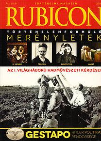 Rácz Árpád (főszerk.): Rubicon (Történelmi magazin) 2013/1-12. (Teljes évfolyam, lapszámonként)