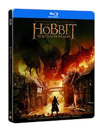 A hobbit: Az öt sereg csatája - 2 Blu-ray Steelbook