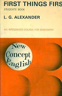 L. G. Alexander: First Things First