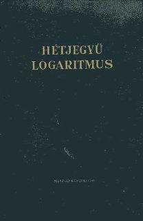 Műszaki Könyvkiadó: Hétjegyű logaritmus