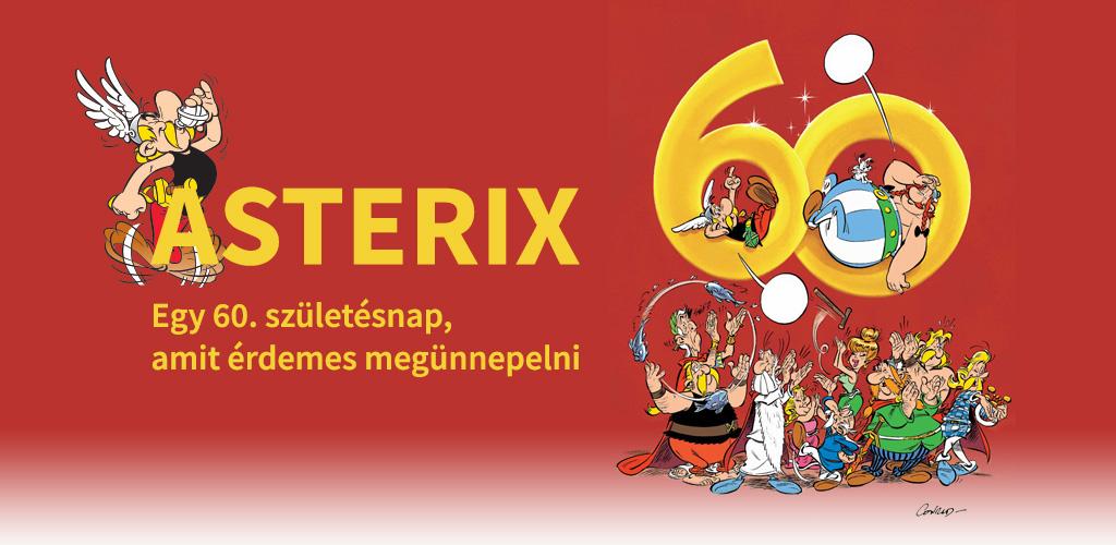Asterix 60 éves
