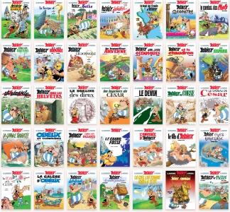 Asterix képregények