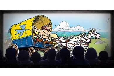 Asterix moziban
