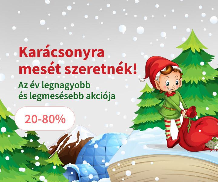 Karácsonyra mesét szeretnék! 20-80%
