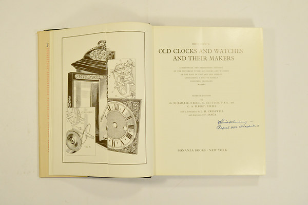 Baillie g h clutton c ilbert c a britten 39 s old clocks for Classic house zene