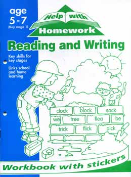 Help with homework reading and writing