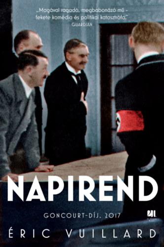 Éric Vuillard: Napirend