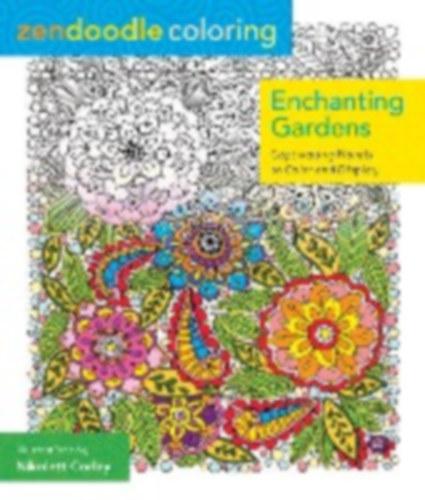 Corley Nikolett Zendoodle Coloring Enchanting Gardens