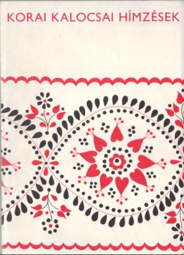 4b00c3c61f Bárth János: Korai kalocsai hímzések | bookline