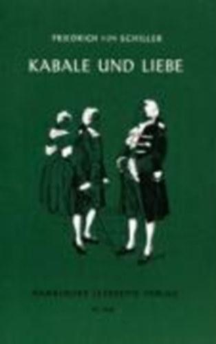 Briefe In Kabale Und Liebe : Schiller friedrich von kabale und liebe bookline