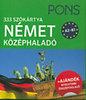 PONS - 333 szókártya - Német középhaladó A2-B1