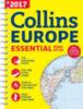 Collins Maps: Európa atlasz (Collins Essential) - 2017