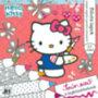 Hello Kitty - csillám színező 20x20