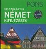 PONS - 333 szókártya - Német kifejezések -A2-B2