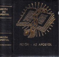 Petőfi Sándor: Az apostol (magyar-szlovák nyelvű, Fekete Géza rajzaival, számozott)- minikönyv, tokban