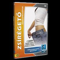 Zsírégető edzésprogram - DVD