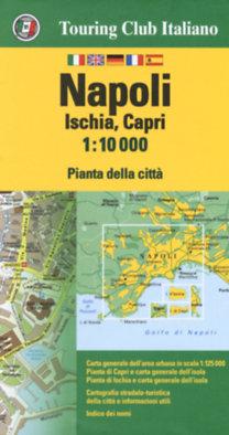 TCI: Napoli, Ischia, Capri térkép 1:10.000 TCI 2018
