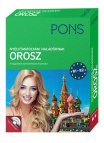 Irina Oszipova: PONS Nyelvtanfolyam haladóknak - Orosz (könyv+CD) - B1-B2