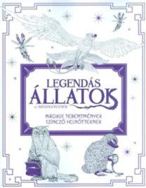 Legendás állatok és megfigyelésük - Mágikus teremtmények - Színező felnőtteknek