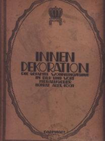 Hofrat Alexander Koch: Innen-Dekoration