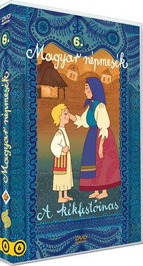 Magyar Népmesék 6. - A kékfestőinas - DVD