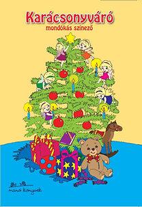 Karácsonyváró mondókás színező