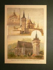 Küküllővidéki templom-erődök Alsó-Bajomban, Muzsnán és Szász-Kézden.