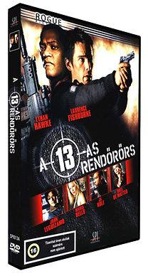 A 13-as rendőrörs - DVD