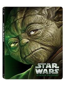 Star Wars II. rész - A klónok támadása - Fémdobozos változat (Blu-ray Steelbook)