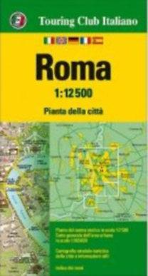 TCI: Róma várostérkép 1:12500 TCI - 2017