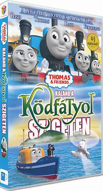 Thomas és barátai - Kaland a Ködfátyol szigeten - DVD