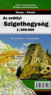 Dimap: Az erdélyi Szigethegység - 1:200000 - 1:200 000 - autó- és turistatérkép