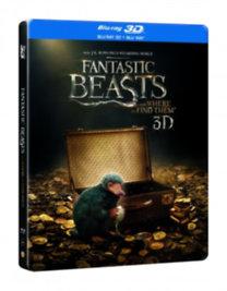 Legendás állatok és megfigyelésük - Steelbook - 3D Blu-ray + Blu-ray