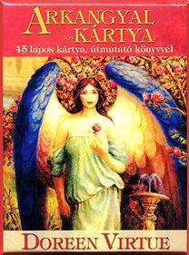 Doreen Virtue: Arkangyal jóskártya - 45 lapos kártya, útmutató könyvvel