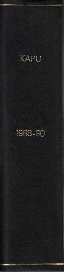 Kapu (Független kulturális és közéleti folyóirat)- 1988. szeptember + 1989-1990. teljes évfolyamok (3 teljes évfolyam, egybekötve)