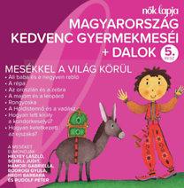 Válogatás: Magyarország kedvenc gyermekmeséi + dalok - 5. rész - CD