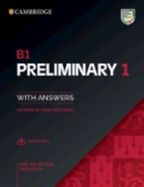 Cambridge English Preliminary 1 for revised exam from 2020. Student's Book with Answers with Audio CD